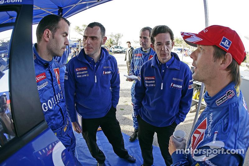 Xavier Pons et Sébastien Loeb