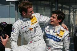 Bruno Spengler félicite Jamie Green