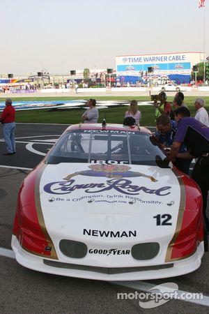 La voiture de Ryan Newman
