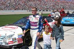 Jeff Burton et sa famille