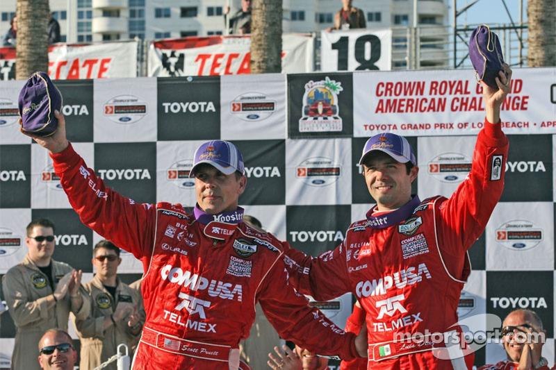 Les vainqueurs Scott Pruett et Luis Diaz
