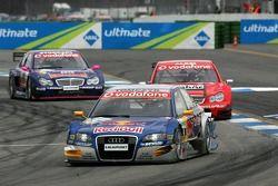 Martin Tomczyk devant Jean Alesi et Susie Stoddart