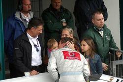 Bernd Schneider avec sa famille