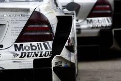 Arrière des voitures Mercedes Benz