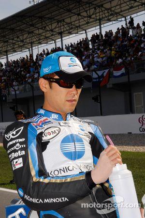 Makoto Tamada sur la grille