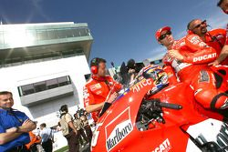 Loris Capirossi on the grid