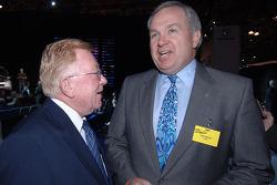 John Mendel with Dr. Don Panoz