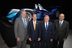 John Mendel, Scott Atherton, Dr. Don Panoz and Robert Clarke