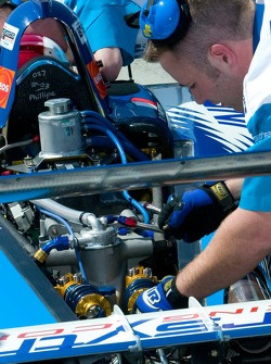 Forsythe Championship Racing making adjustments