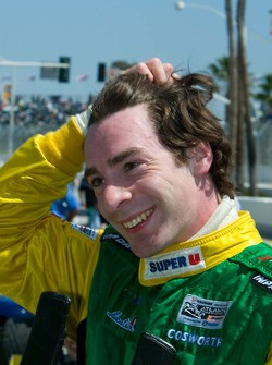 Simon Pagenaud is pleased he was quickest in Friday's qualifying session