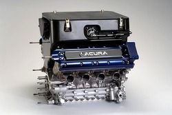 The engine of the Acura ALMS race car concept