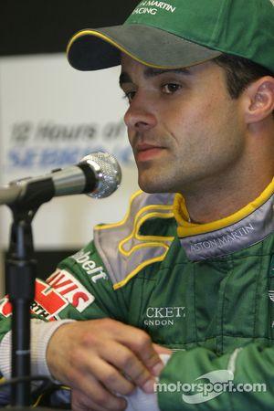 Conférence de presse après les qualifications: Pedro Lamy en pole position