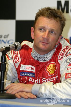 Post qualifying press conference: LMP1 and overall pole winner Allan McNish
