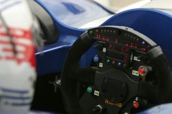 Steering wheel of the Dyson Racing Team Lola B06/10 AER