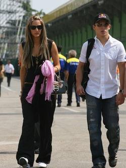 Christian Klien avec sa petite-amie