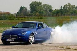Vitantonio Liuzzi dans sa nouvelle Maserati GranSport