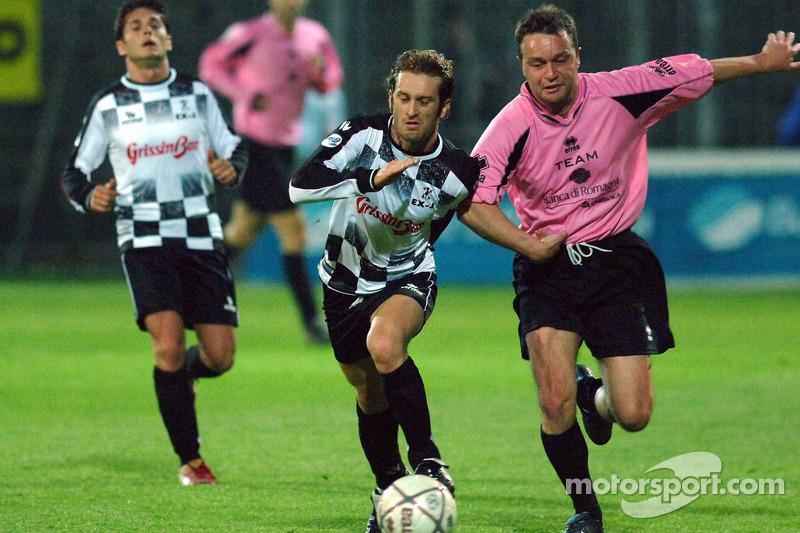 Les champions font un match de charité, Ravenna's Benelli Stadium: Jarno Trulli