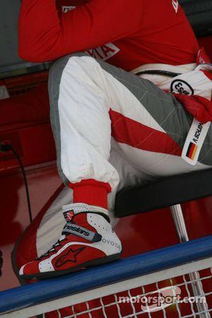 Chaussures alpines de Ralf Schumacher