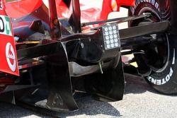 Détails techniques de la Ferrari