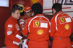Jean Todt y Felipe Massa