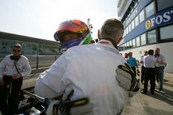 Gianmaria Bruni fête sa pole position