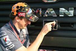 Christijan Albers, Midland MF1 Racing avec le camion Midland MAN