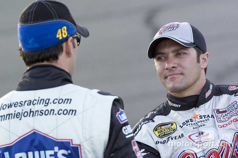 Jimmie Johnson et David Stremme
