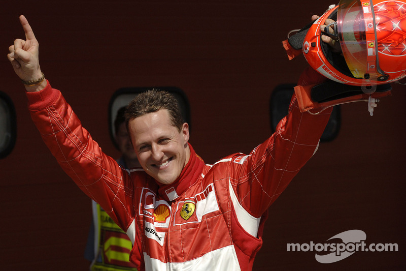 Csak Michael Schumacher nyert többször egy helyszínen, a német Magny Cours-ban győzött nyolc alkalommal.