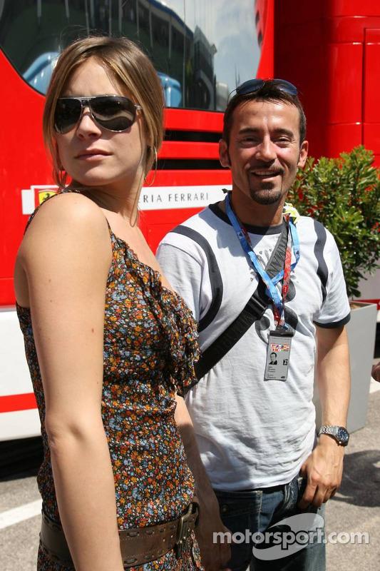 Max Biaggi et sa petite amie Eleonora Pedron