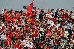 Des fans à Imola