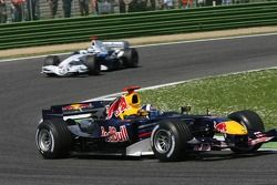 David Coulthard devant Nick Heidfeld