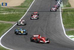 Felipe Massa, por delante de Fernando Alonso