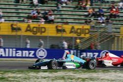 Timo Glock et Nelson A. Piquet