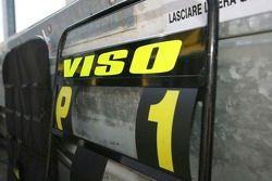 Le panneau de piste de Ernesto Viso