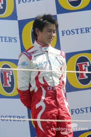 Podium: Hiroki Yoshimoto