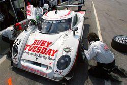 Arrêt au stand pour #23 Alex Job Racing/ Emory Motorsports Porsche Crawford: Mike Rockenfeller, Patr