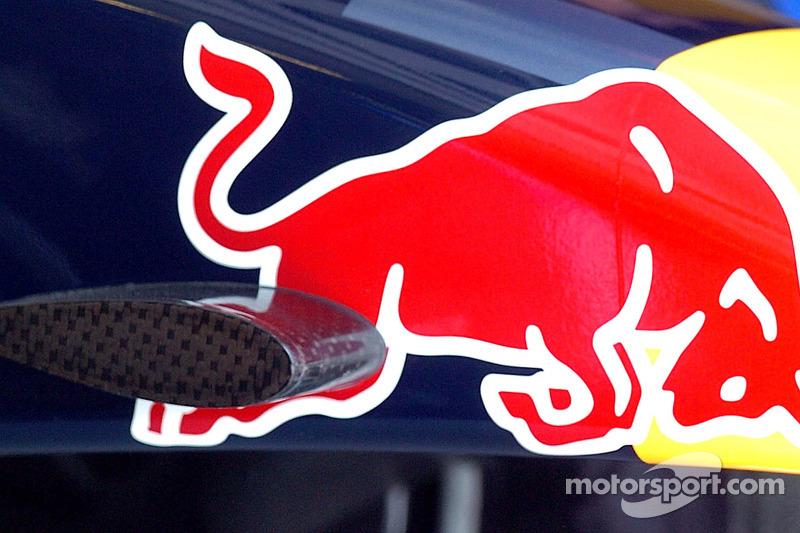 Le nez d'une voiture Red Bull Racing