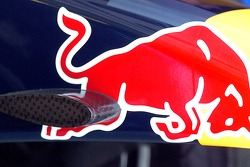The nose cone of a Red Bull Racing car