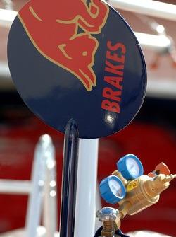 La signature de l'homme sucette de Scuderia Toro Rosso