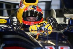 Vitantonio Liuzzi tests for Red Bull Racing