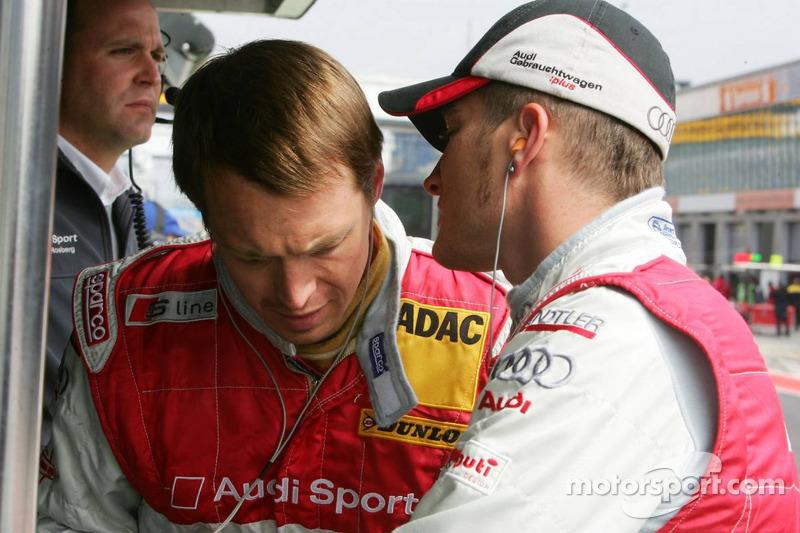 Frank Stippler et Timo Scheider
