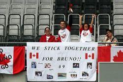 Invasion canadienne: des fans de Bruno Spengler