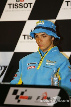 Conférence de presse: Chris Vermeulen en pole position
