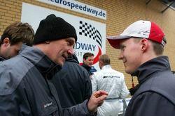 Dr. Wolfgang Ullrich et Mattias Ekström