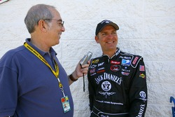 Reporter Lewis Franck speaks with Clint Bowyer