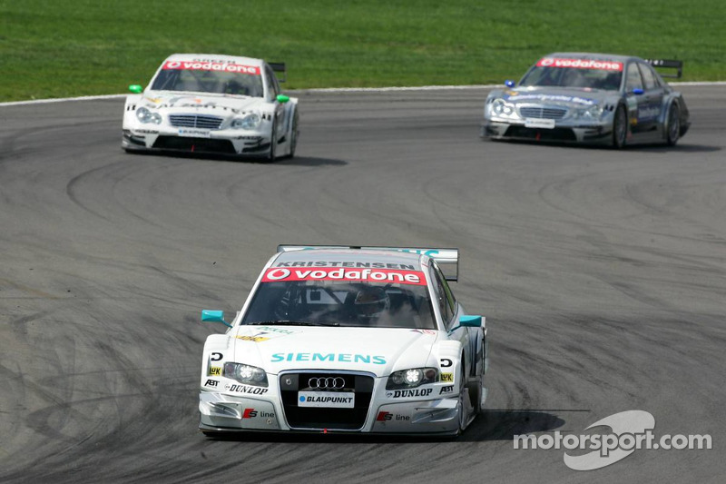 Tom Kristensen devance Jamie Green et Bruno Spengler