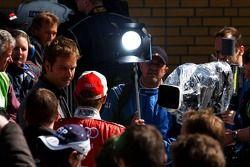 Tom Kristensen interviewé par la chaîne de télévision allemande ARD