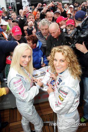 Seat Leon Supercopa: Cora Schumacher and Christina Surer
