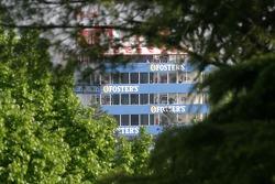 Une vue de la tour à Imola