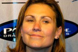 Melanie Troxel en interview après les qualifications